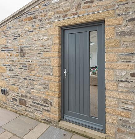 Leyburn Home - Side Door - AP image copyright of George Barnsdale